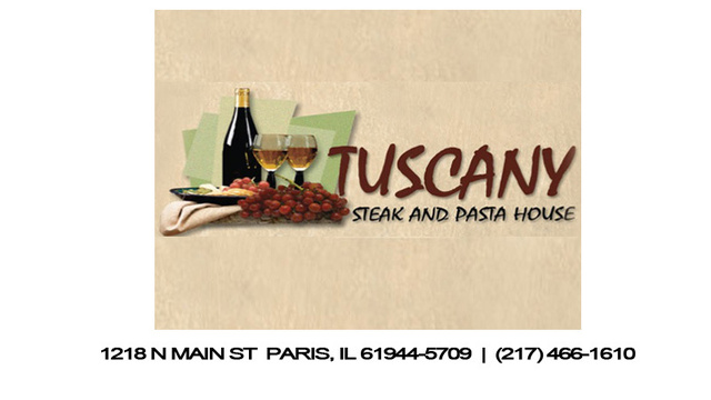 Tuscany Steak And  Pasta House- Sponsored Content