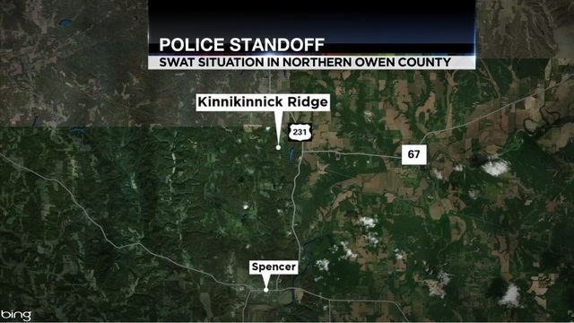SWAT Situation in Northern Owen Co