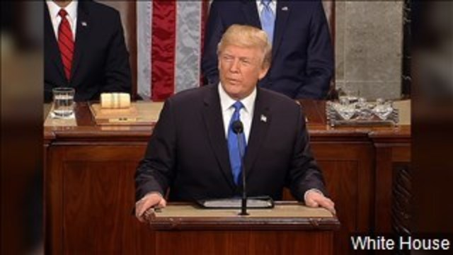 Trump Gives State of the Union Address