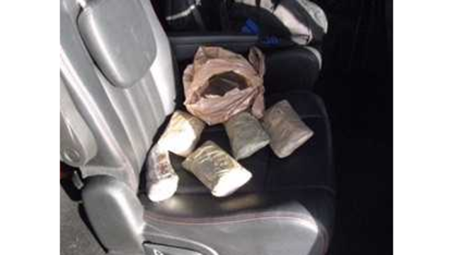 Heroin Seized in Traffic Stop
