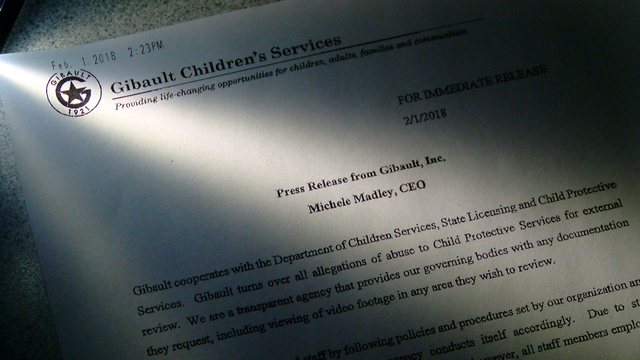 Gibault's Response to Inquiries of Abuse