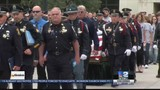 Community Watches As Officer is Laid to Rest
