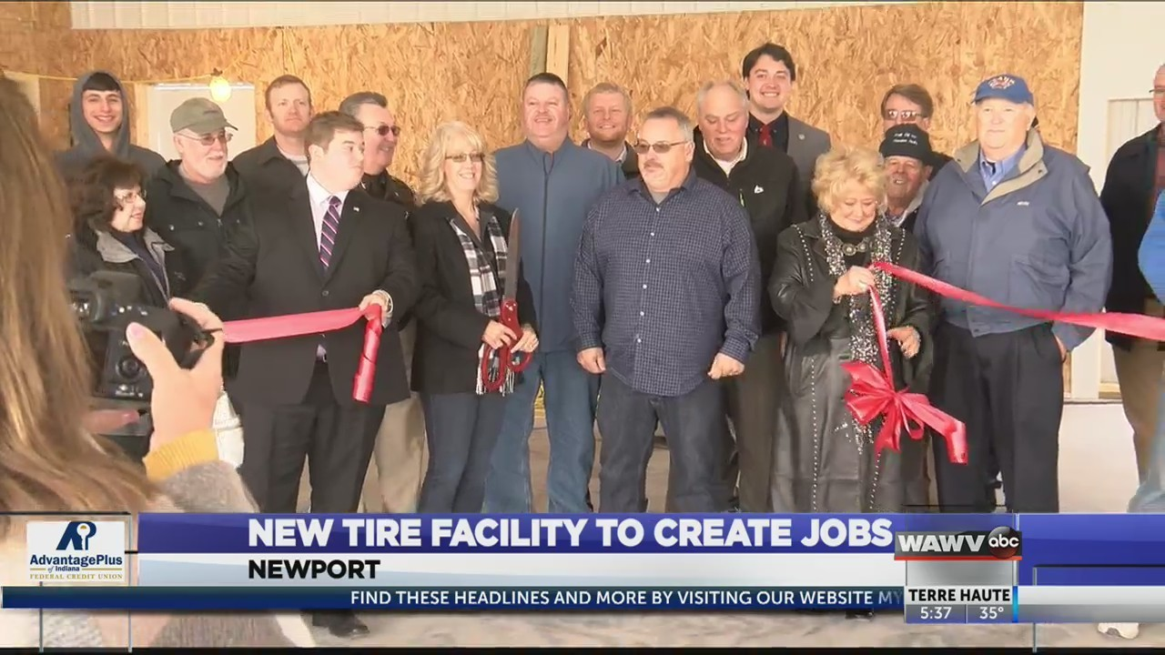 Tire Recycling Facility to Create Jobs