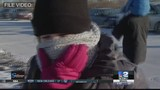 Caution urged when outside as temps drop to teens