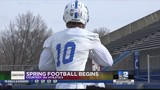Sycamores Begin Spring Football