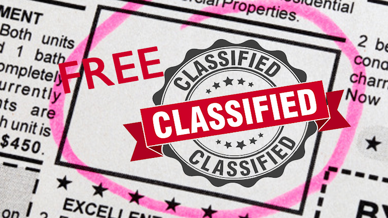 Effective Classified Advertising and Marketing Online