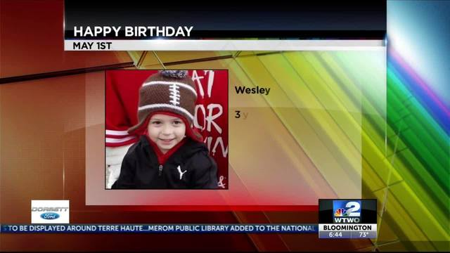 WTWO Today BIRTHDAYS AND ANNIVERSARIES 5-1-19