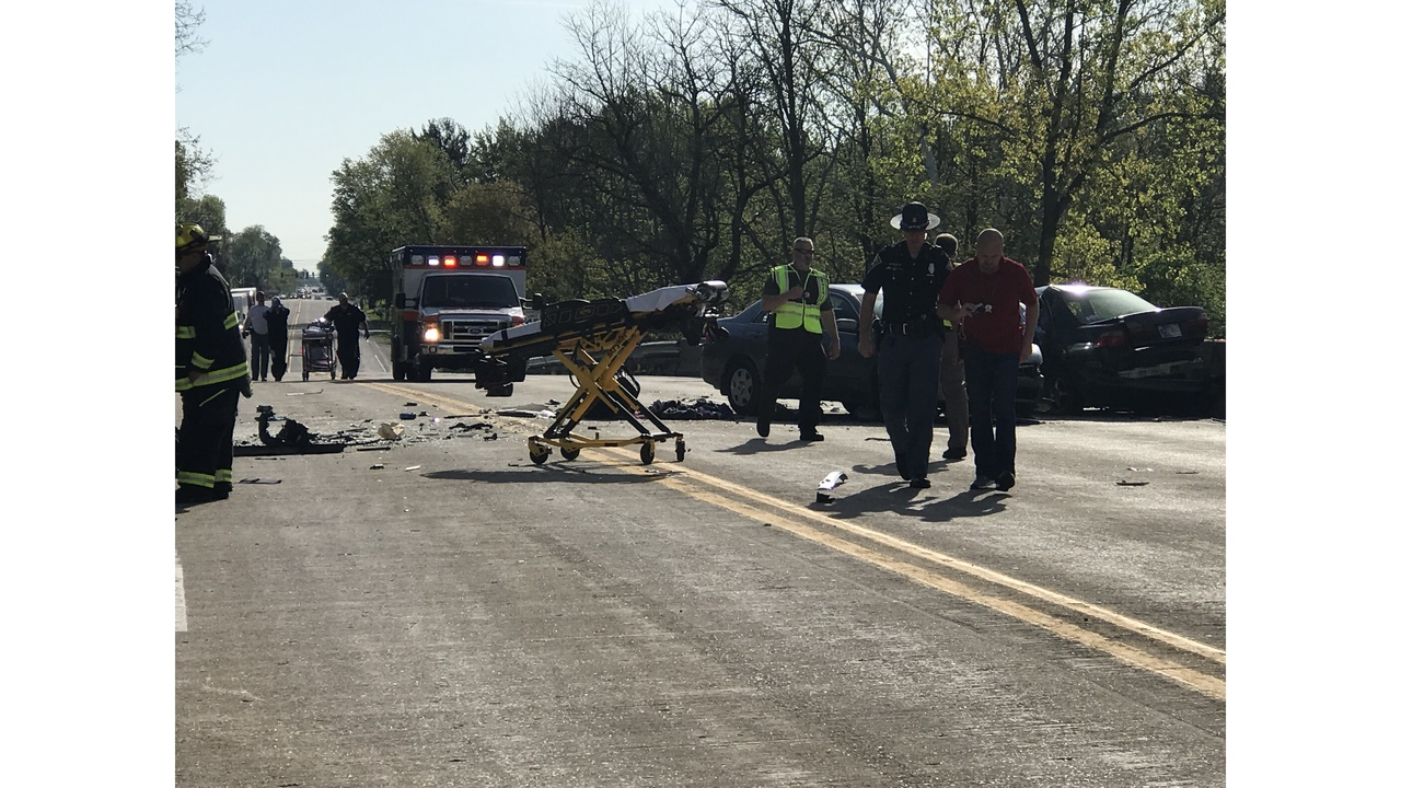 UPDATE: Names released in deadly crash on U S  40