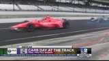 Drivers practice for final time at Carb Day