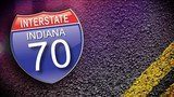 Several hurt in wreck involving INDOT vehicle on I-70